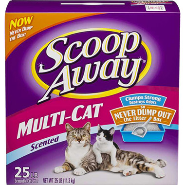 multiple-cat-litter-scented