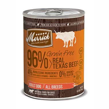 Grain Free 96% Real Texas Beef