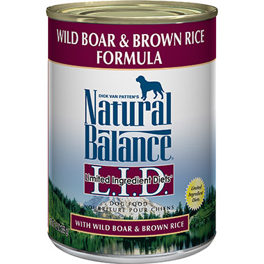 L.I.D. Limited Ingredient Diets Wild Boar and Brown Rice Formula