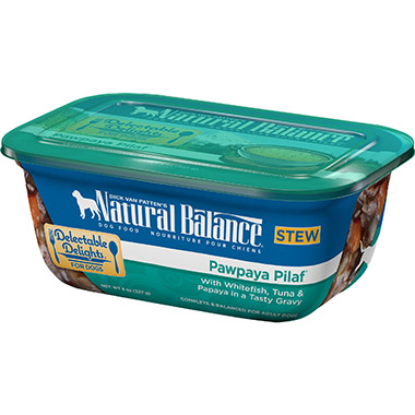 Delectable Delights Pawpaya Pilaf Container Dog Stew