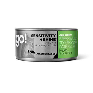 SENSITIVITY + SHINE Grain Free Freshwater Trout + Salmon Pate