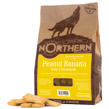 PB Banana Copa Cabana! Dog Treats