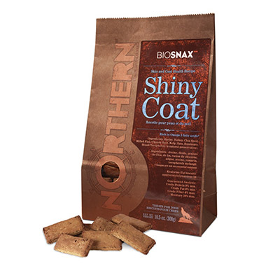 BIOSNAX Shiny Coat Dog Treats