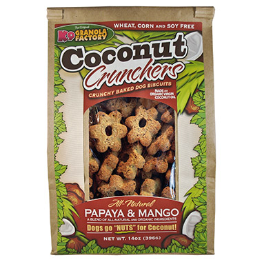 Coconut Crunchers Papaya & Mango