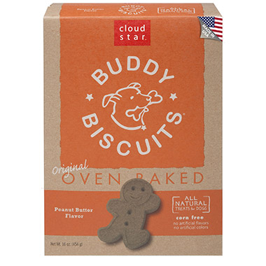 Cloud Star Oven Baked Buddy Biscuits Peanut Butter