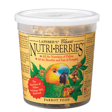 Classic Nutri-Berries for Parrots