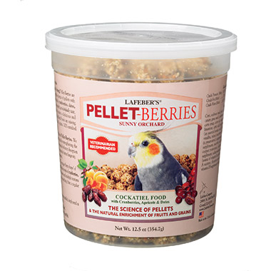 Pellet-Berries for Cockatiels