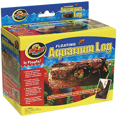 Floating Aquarium Log