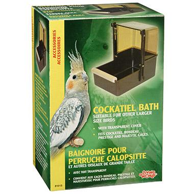 cockatiel-bath