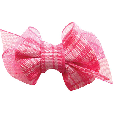 plaid-hair-bow