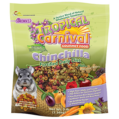 Natural Gourmet Chinchilla Food