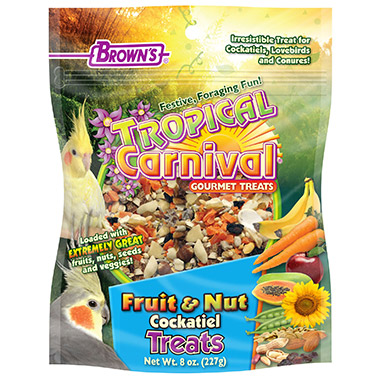 Fruit & Nut Cockatiel Treats