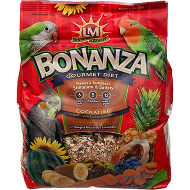 Bonanza Gourmet Diet for Cockatiels