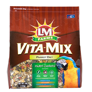 vitamix-parrot-diet