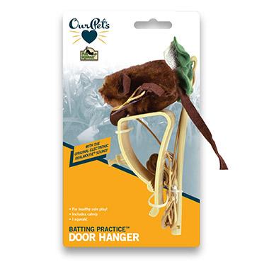 Batting Practice with Door Hanger