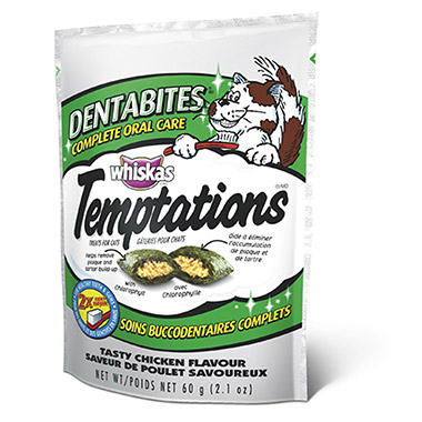Temptations Dentabites Complete Oral Care - Tasty Chicken Flavour