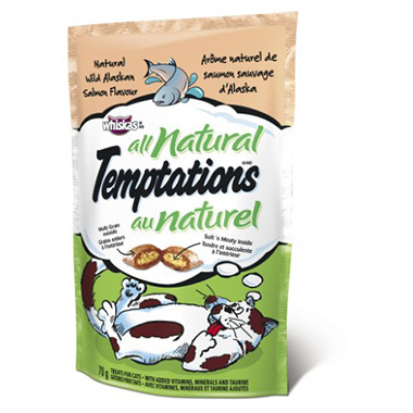 Temptations All Natural Wild Alaskan Salmon Flavour
