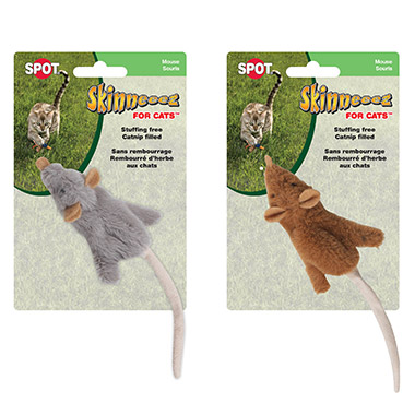Skinneeez Mouse With Catnip