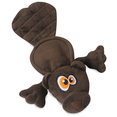 Brown Beaver Toy