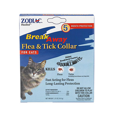 Break Away Flea & Tick Collar For Cats