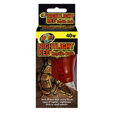 Nightlight Red Reptile Bulb 40W