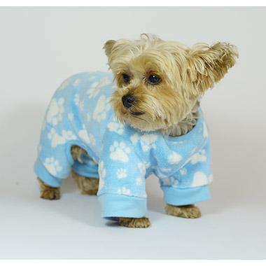 plush-fleece-sleepwear-blue