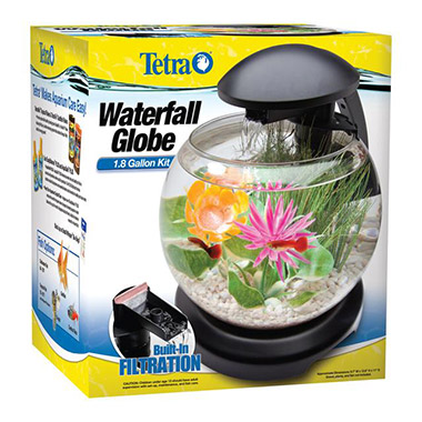 led-waterfall-globe-desktop-aquarium-kit