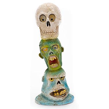 zombie-skull-totem-pole