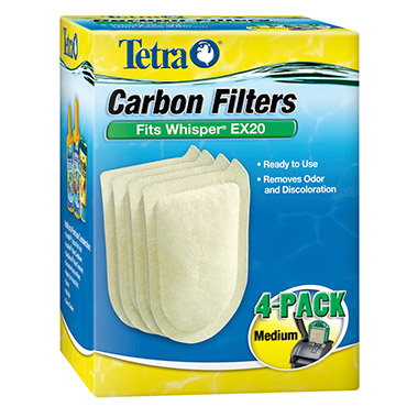 Whisper EX Aquarium Carbon Filter Cartridges