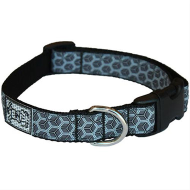 adjustable-nylon-dog-clip-collar-hexacomb