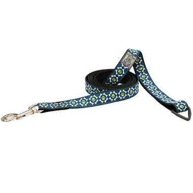 nylon-dog-leash-with-accessory-triangle-pawprint