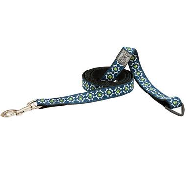 nylon-dog-leash-with-accessory-triangle-pawprint