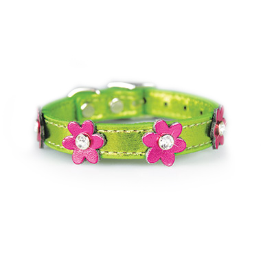 flower-collar-green