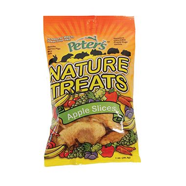 Peter's Nature Treats Apple Slices