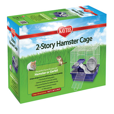 My First Home 2 Story Hamster