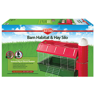 Barn Habitat with Hay Silo
