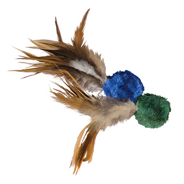 crinkle-ball-with-feathers