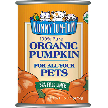 100% Pure Organic Pumpkin For All Your Pets