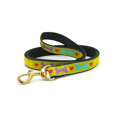 nylon-dog-lead-6ft-x-1-heart-and-bone