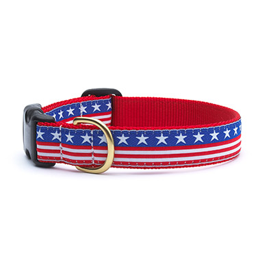 nylon-adjustable-dog-collar-stars-and-stripes