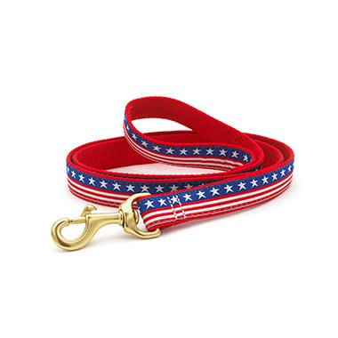 nylon-dog-lead-6ft-x-1-stars-and-stripes