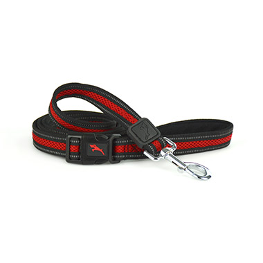 Mesh Leash Red