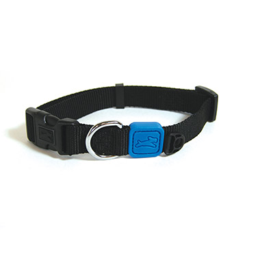 nylon-adjustable-collar-black