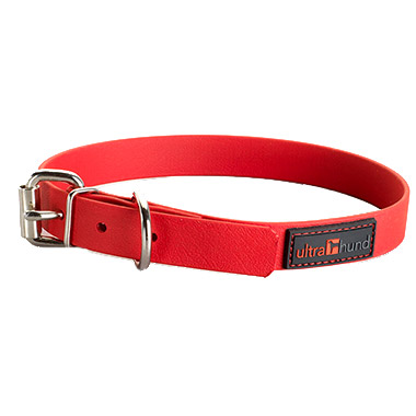 play-collar-34-inch-red