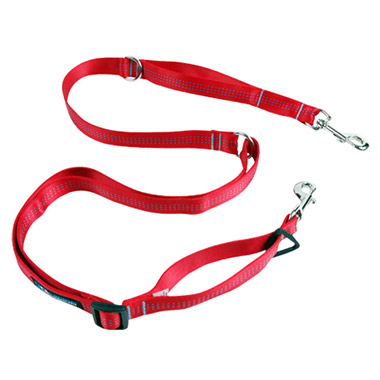 technika-beyond-control-ajustable-nylon-dog-leash-8ft-x-1-red