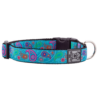 adjustable-nylon-dog-clip-collar-tropical-paisley