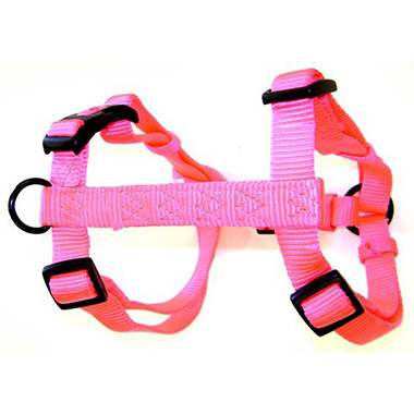 adjustable-harness-hot-pink