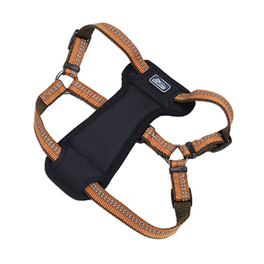reflective-stepin-padded-dog-harness-campfire-orange