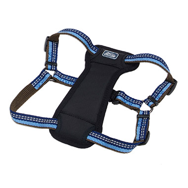 reflective-stepin-padded-dog-harness-sapphire