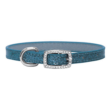 sparkle-dog-collar-blue
